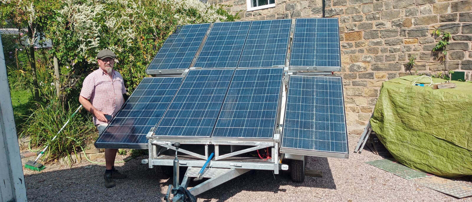 solar powered trailer